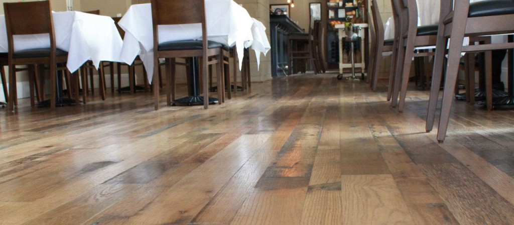 Oak Wooden Flooring restaurant