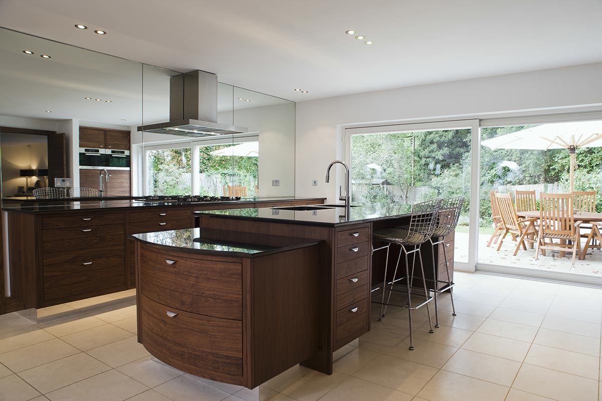 contemporary kitchen in Sevenoaks