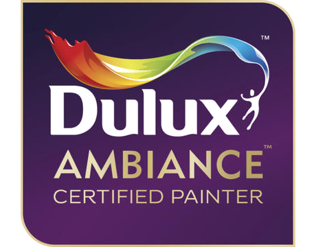 Dulux Ambiance certified painter logo